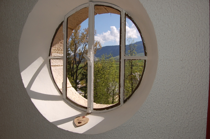 fenêtre vue vercors